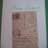 MANUSCRIS - ZAHARIA BIRSAN - C.P. - 1928 - COLECTIA G.BUZDUGAN