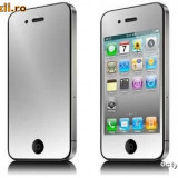 iPHONE 4G iPHONE 4 - CEA MAI TARE FOLIE OGLINDA PENTRU ECRAN - MODEL NOU!