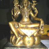 Statueta bronz, Tibet, sec. 19 - Metal/Fonta