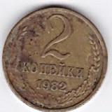 Rusia-URSS 2 Copeici 1982