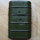CUTIE METALICA militara veche