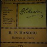 Razvan si Vidra - B.P. HASDEU - Carte Editie princeps