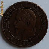 10 centimes 1862 Napoleon