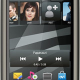 Nokia 5228 - Telefon Nokia, Negru, Neblocat, Touchscreen, 16 M