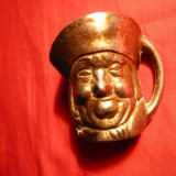 PAHAREL - CAP PERSONAJ - metal aurit, h=5, 2cm - Metal/Fonta