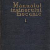 Manualul inginerului mecanic 2 - Organe de masini