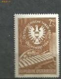 Austria 1959 - TUTUN, MASINA DE TIGARI , timbru MNH B254