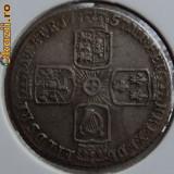6 pence 1757 Marea Britanie, argint - Moneda Medievala