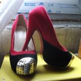 Pantofi dama, Marime: 35.5 - Pantofi replica louboutin