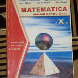 CC4 - MATEMATICA - CLASA A X-A - Manual scolar