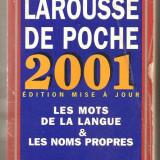(C721) LE LAROUSSE DE POCHE, 2001, EDITION MISE A JOUR, DICTIONNAIRE DE LA LANGUE FRANCAISE ET DE LA CULTURE ESSENTIELLE