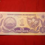 Bancnota Straine - Bancnota 1 Centavo NICARAGUA, NC