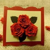 Martisor Buchet de trandafiri 1 - Martisor handmade