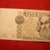 Bancnota 1000 Lire 1982 ITALIA, cal.Buna-F.Buna