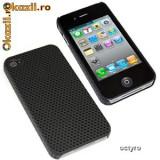 HUSA iPHONE 4S - MESH CASE - CARCASA iPHONE 4S - BLK MESH - SPECIALA iPHONE 4S - COMPATIBILA SI iPHONE 4