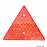 Catadioptri triunghiulari reflectorizanti ROSU, Universal