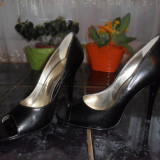 Pantofi superbi cu toc Da Vinci!!! - Pantofi dama, Marime: 35.5, Fuchsia