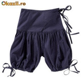 Pantaloni dama, Scurti, Mov, Bumbac - Pantaloni La Redoute short Sarouel
