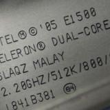 Intel E1500 dual core 2.2 - Procesor PC, Intel Celeron, Numar nuclee: 2, 2.5-3.0 GHz, LGA775