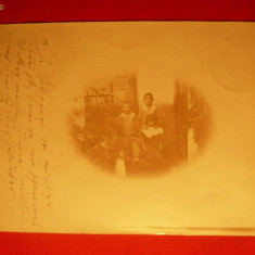 Foto.circ.=C.Postala cu t. 2 Kr.violet ,st.Foldvar-Brasso,1899