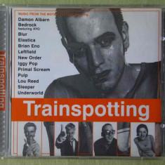 TRAINSPOOTING - Coloana sonora film - C D Original ca NOU - Muzica soundtrack