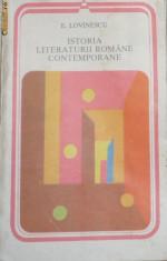 Studiu literar - E. LOVINESCU - ISTORIA LITERATURII ROMANE CONTEMPORANE 1900-1937