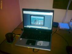 Laptop acer travelmate 4201 WLMI, Intel Centrino, 15.4 inch, Sub 1000 Mhz, 120 GB, 2 GB
