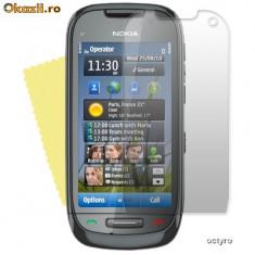 Folie de protectie - Folie ecran Nokia C7 - NOKIA C 7 - SUPER PVC 100% TRANSPARENT