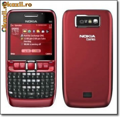 Telefon Nokia, Rosu - Vand/schimb nokia e63 codat orange cu e63 codat vodafone