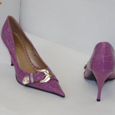 Pantofi dama - Pantofi mov cu catarama, - (Belle Woman 257-31 light purple) REDUCERE EXCEPTIONALA DE PRET