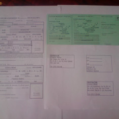Aplicatie completat formulare postale: Buletin de Expeditie, Mandat Postal, Emandat, Etichete colet - Aplicatie PC