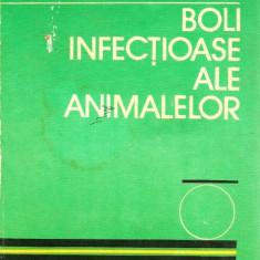 Carte Boli infectioase - BOLI INFECTIOASE ALE ANIMALELOR - I. BERCEA, AL MARDARI 1981
