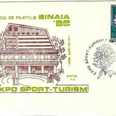 Plicuri speciale (set) Targul de filatelie Sinaia 88, Expo Apararea naturii - Plic Papetarie