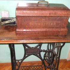 Masina de cusut Scweitzer, Seria : 2274954, Pieasa de coletie in stare perfecta de functionare !