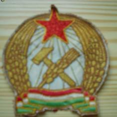 Ecuson militar maghiar unguresc comunist republica populara ungaria anul 1951