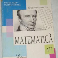 CC4 - MATEMATICA - ALL - CLASA A XI - A - Manual scolar all, Clasa 11