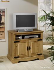 Comoda dormitor - COD 1545 Comoda TV Program Mexican Mobila din lemn masiv origine Brazilia