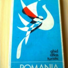 Romania Ghid, atlas, turistic 1971 editura stadion