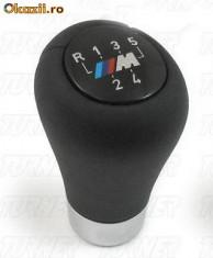 Nuca schimbator - Maneta schimbator de viteze model M pentru cutie manuala / nuca orig BMW e30 e36 e46 e39 e60 e90