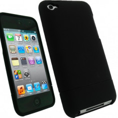 Husa Apple Ipod Touch 4g 4th gen - DESIGN NOU - Plastic Hybrid Negru