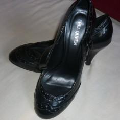 Pantofi dama lac, marimea 38, Marime: 36.5, Fuchsia
