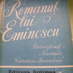 ROMANUL LUI EMINESCU CEZAR PETRESCU