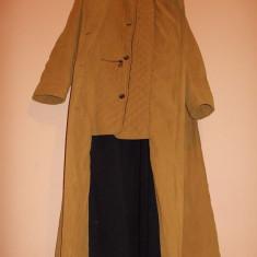 Palton dama, Bej, XL, Bumbac - HAINĂ LUNGĂ DE DAMĂ PT. IARNĂ CĂPTUȘITĂ, PARDESIU, EL INTERNATIONALE, MĂRIME XL!