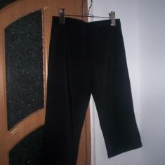 Pantaloni dama vara 3/4, Trei-sferturi, Fuchsia, Poliester