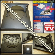 Masa Laptop - MASUTA ROTATIVA (360 grade) cu 7 UNGHIURI de INCLINARE pentru LAPTOP sau NOTEBOOK AS SEEN ON TV TELESHOPPING MASUTE NETBOOK