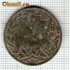 Monede Romania - 08 Moneda 5 Bani 1867 WATT & Co -starea care se vede -ceva mai buna decat scanarea