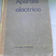 Carti Electronica - APARATE ELECTRICE VOL, 3 APARATE DE INALTA TENSIUNE M.A.BABIKOV