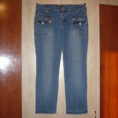 Blugi dama, Boyfriend, Marime: 28 - Jeans, blugi albastrii 7/8 de dama