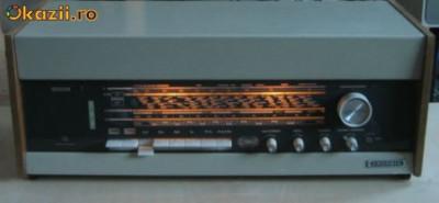 Radio Grundig  Stereomeister 15 , vintange, pe lampi, tuburi, stereo. foto