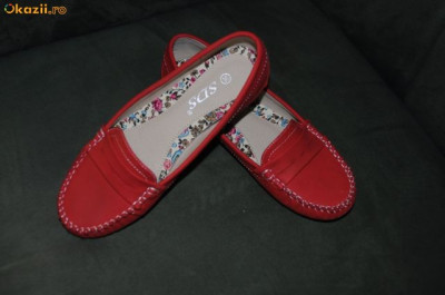 Vand papuci stil mocasini foto